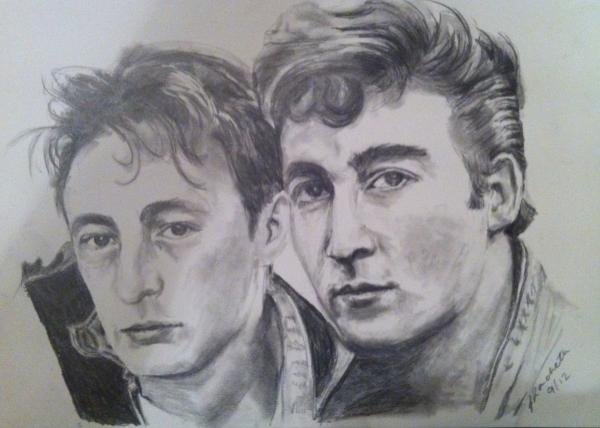 Julian Lennon And John Comparison